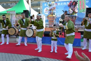 20141122津軽物産観光フェア(お囃子)